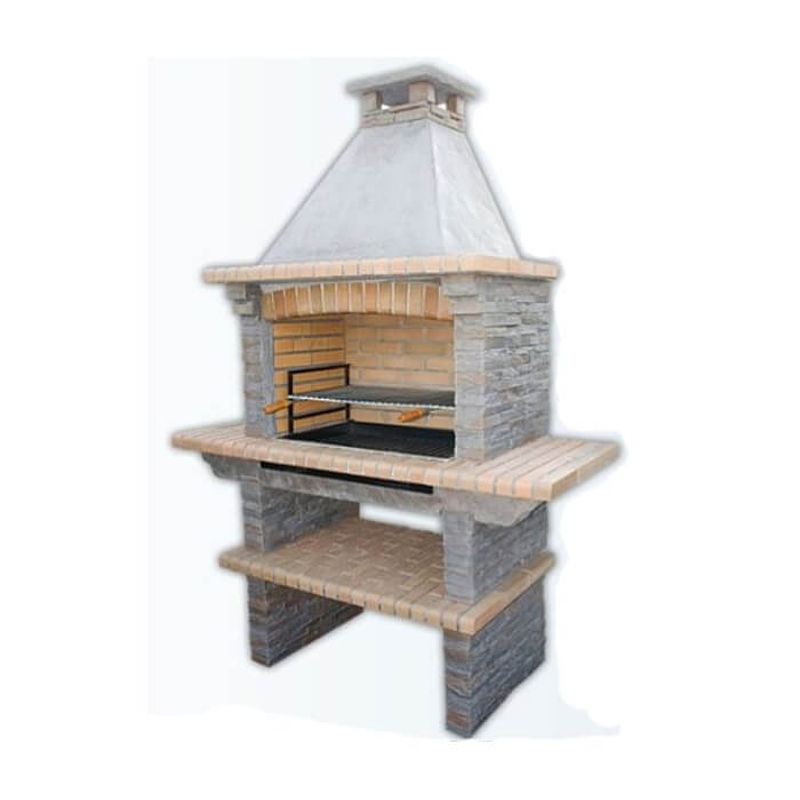 buy mediterrani slate masonry barbecue from garden gift shop. Black Bedroom Furniture Sets. Home Design Ideas