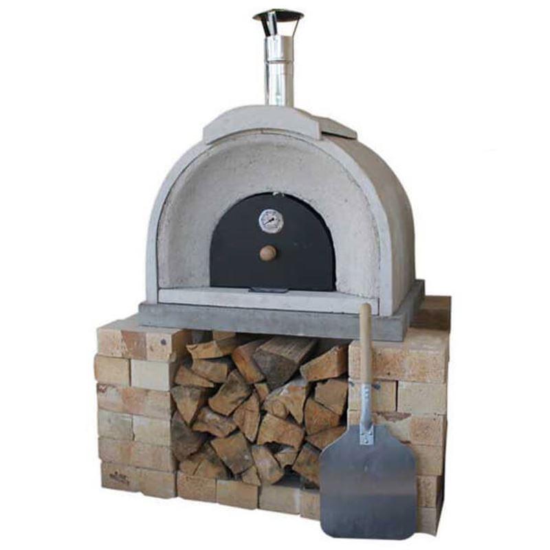 Wood Burning Pizza Oven Kitchen