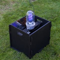 Flat Pack Moth Trap with Actinic Light