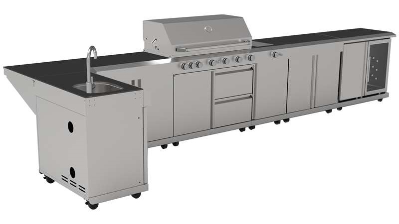 Callow Stainless Steel Outdoor Kitchens