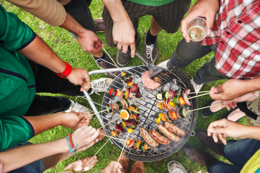 skewers-people Top Must Have For Perfect Outdoor BBQ Party