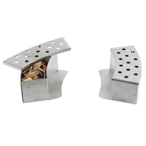 Stainless Steel Kettle BBQ Smoke Boxes
