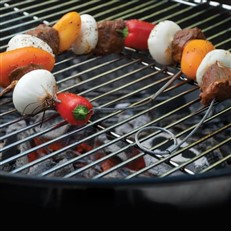 Flexible Wire BBQ Skewers 76cm Set of 4