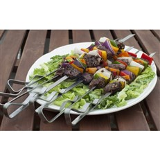 Stainless Steel Kebab Rack Set