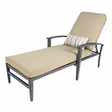 Foremost Encore Chaise Lounge Garden Sunlounger