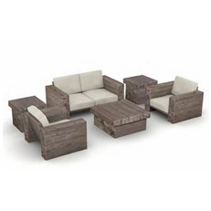Foremost Block Two Seater Garden Sofa