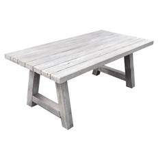 Foremost Natural White Timber Effect Dining Table