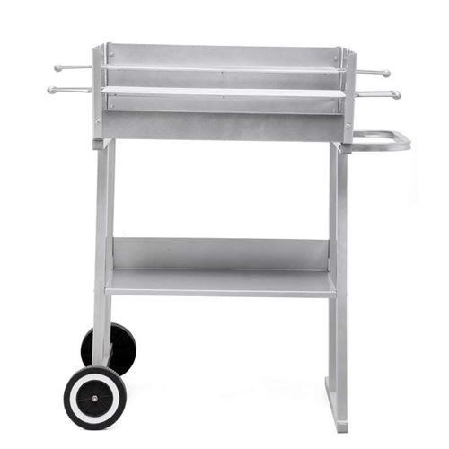 Pasadena Trolley Mounted Charcoal BBQ Grill Tepro