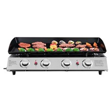 Large 4 Burner Gas Plancha
