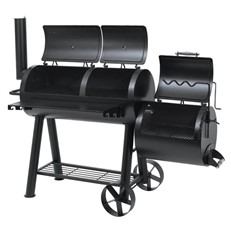 Heavy Duty Offset BBQ Smoker Indianapolis Grill