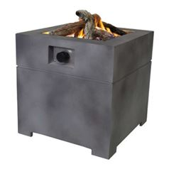 CosiConcrete 60 Gas Fire Table