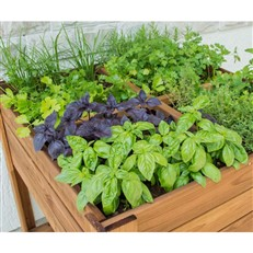 Gardener's Sectional Raised Planter With Shelf