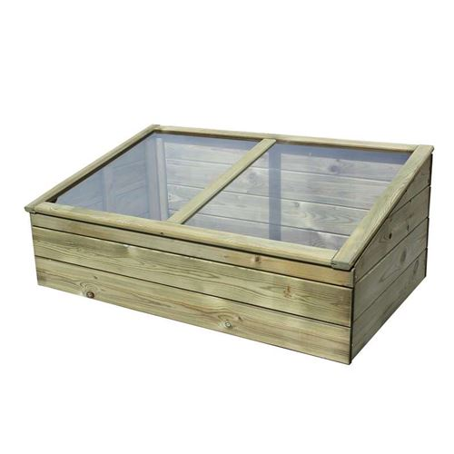 Garden Timber Cold Frame Greenhouse