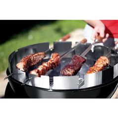 BBQ Skewer Holder for Circular Barbecues