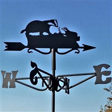 Badger Black Mini Weathervane