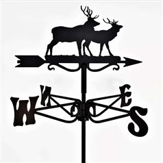 Stag Black Mini Weathervane