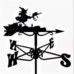 Witch Black Mini Weathervane
