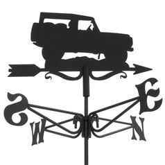 Land Rover Black Mini Weathervane