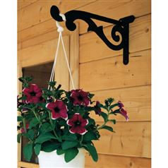 Garden Hanging Basket Bracket with Decorative Scroll
