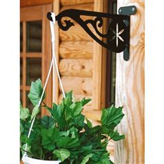 Quality Outdoor Bracket with Floral Scroll Design for Hanging Baskets