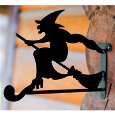 Decorative Witch Hanging Basket Bracket