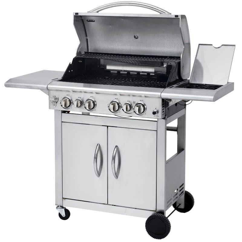 keansburg stainless steel gas bbq grill. Black Bedroom Furniture Sets. Home Design Ideas