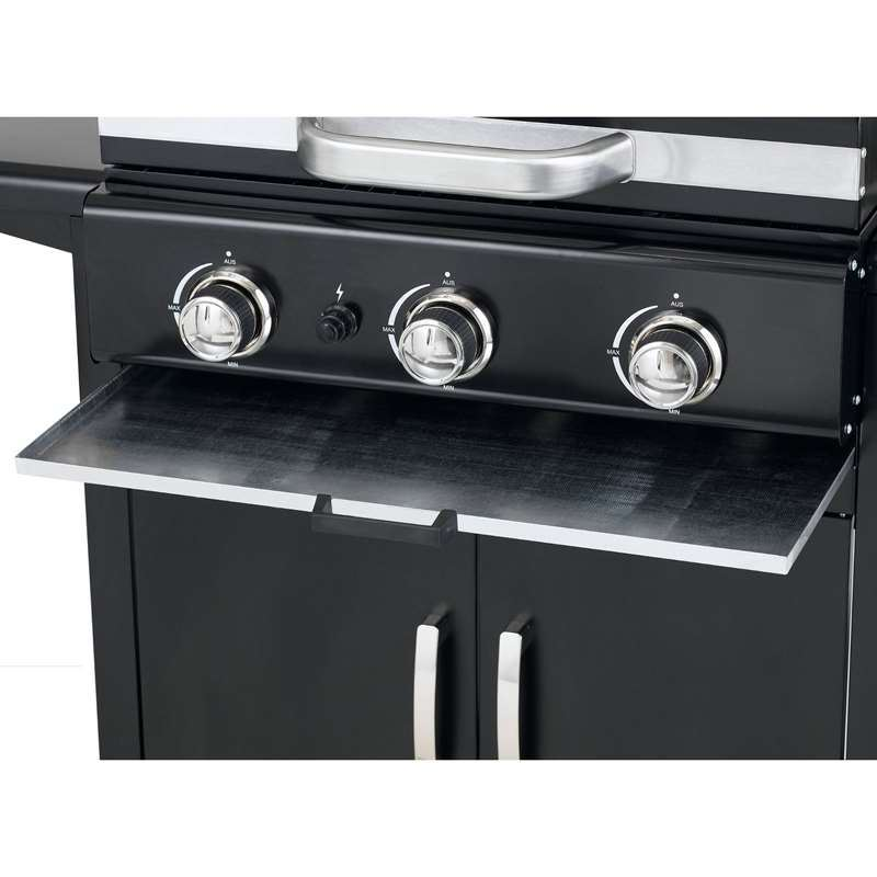High Specification Mayfield 3 Burner Gas BBQ Grill