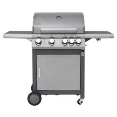 Rockland 4 Burner Gas BBQ Grill with Side Burner