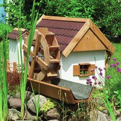 Water Mill Garden Feature for your Pond