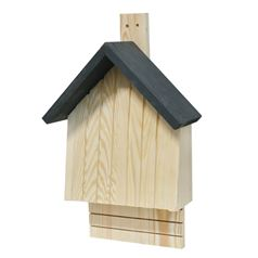 Bat Box with Grey Apex Roof