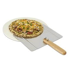 Pizza Grilling Stone Set