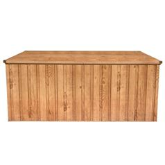 Large Metal Storage Box with Oak Finish