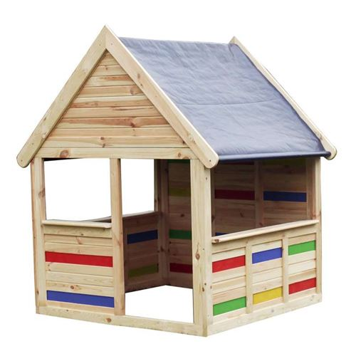 Colourful Outdoor Child's Play House