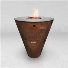 Remundi Caesar Conical BBQ Grill and Fire Pit