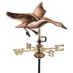 Landing Duck Cottage Weathervane