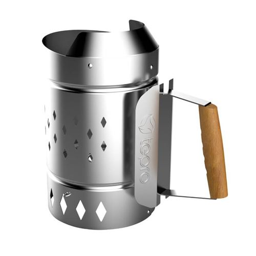 XL Chimney Starter for BBQ Charcoal