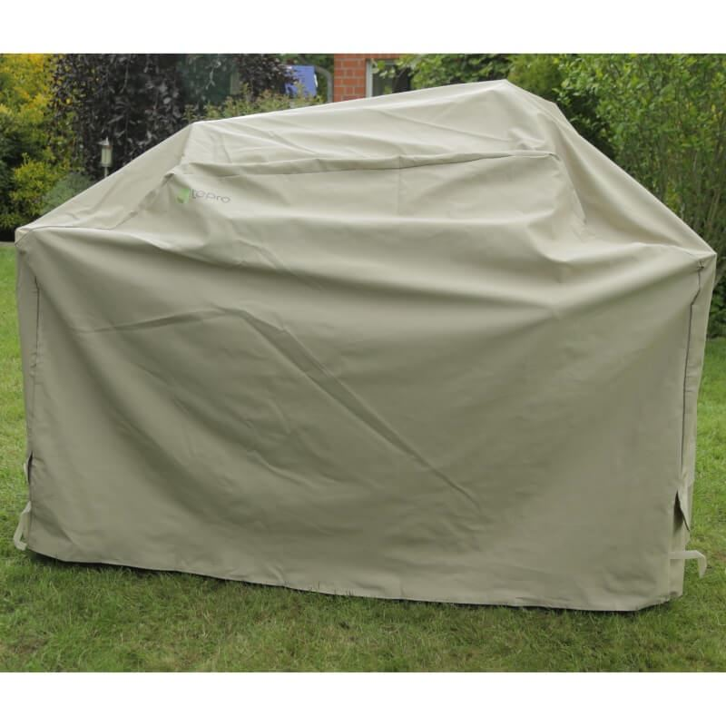 Universal Cover For Extra Large Bbq Grill In Beige