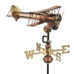 Bi-plane Cottage Weathervane