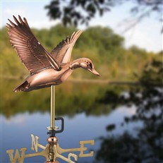 Flying Duck Cottage Weathervane