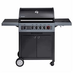 Boston Black 4 IK Turbo Gas BBQ Grill
