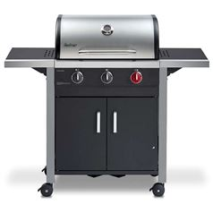 Chicago 3 Burner Gas BBQ Grill