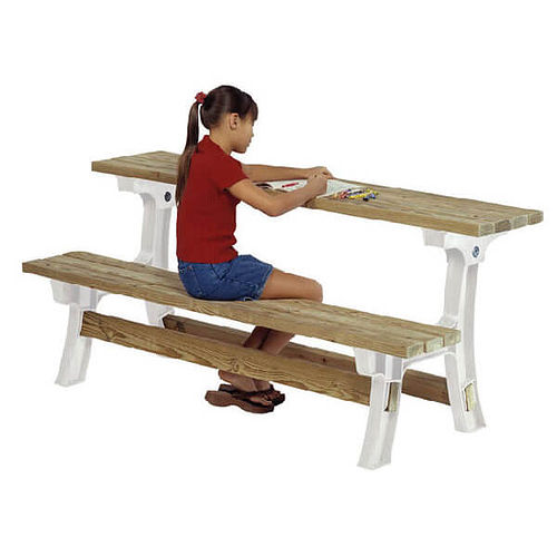 2x4  Wooden Table Bench