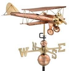 Bi-plane Farmhouse Weathervane