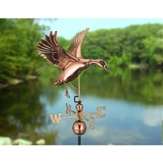 Landing Duck Farmhouse Weathervane
