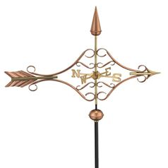 Victorian Arrow Farmhouse Weathervane