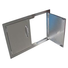 Flush Mounted Double Cabinet Doors