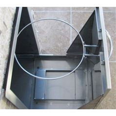 Flush Fitting Pull-Out Rubbish Drawer