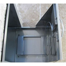 Outdoor Kitchen DIY Flush Fitting Pull-Out Rubbish Drawer