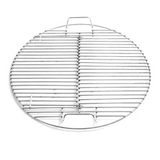 Hinged Grate for the Pit Barrel Cooker