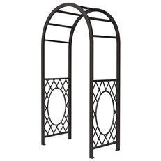 Wrenbury Round Top Steel Garden Arch